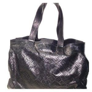 CC Skye Large Oversized Leather Bag